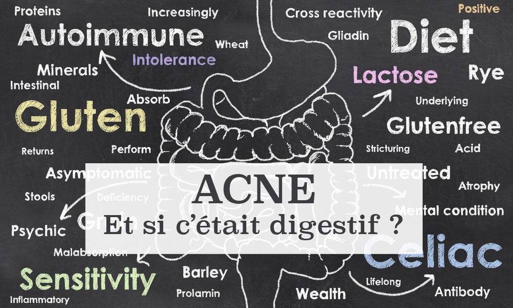 Naturel acné solution - acné digestif